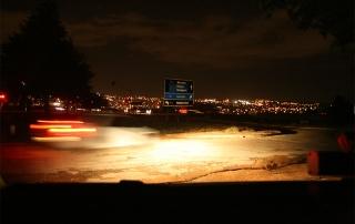 Johannesburg by night.